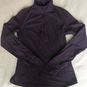Lululemon Purple 1/4 Zip